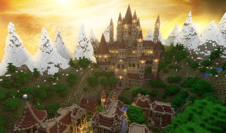 minecraftmap-adventure-castle-forest